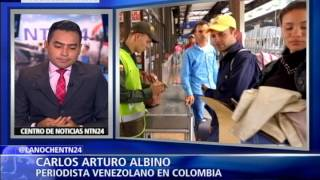 Miles De Venezolanos Huyen De La Crisis Humanitaria Por Culpa Del Chavismo Parte I