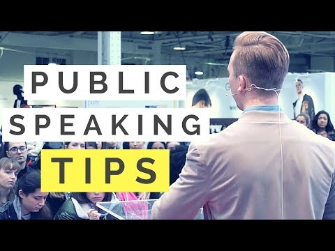 3 Simple PUBLIC SPEAKING Tips | Tips For Public Speaking