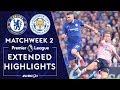 Chelsea V Leicester City PREMIER LEAGUE HIGHLIGHTS 81819 NBC Sports