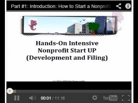 Part#8: Get an EIN (Employer Identification Number) for Your Nonprofit Organization