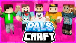 A NEW CRAZYCRAFT WORLD! | PalsCraft 2 - Episode 1