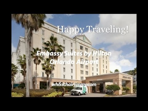 Embassy Suites Orlando Airport - Wheelchair Accessibility Review