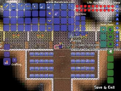 Terraria : how to make shadow armor