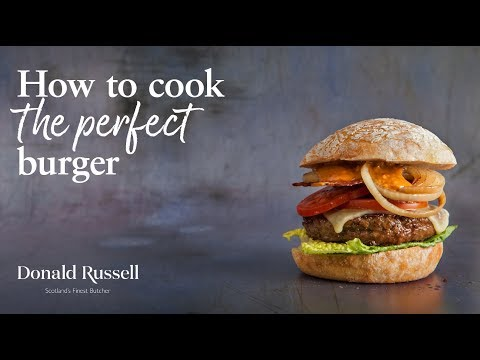 How to cook the Perfect Gourmet Steak Burger