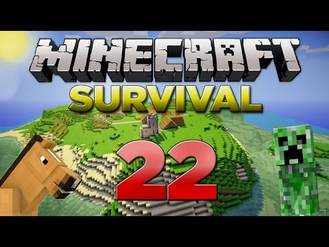 Minecraft Xbox: Survival Lets Play - Part 22 [XBOX 360 EDITION] The Enchantment Table - W/Commentary
