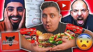 تحدي خليت اليوتيوبرز يحددون اكلي لمدة ٢٤ ساعة 🤣 | سحس و باري تيوب و مجرم قيمز !!