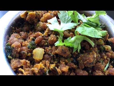 Maharashtrian  zunka recipe/ dry zunka recipe..