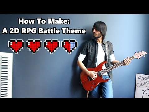 How To: Make a 2D RPG Battle Theme in 5 Minutes || Shady Cicada