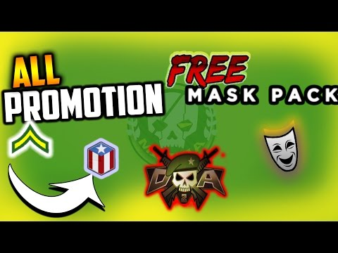 Mini Militia | All Promotion Level [First On Net] | Get Mask pack For Free | No root/Hack