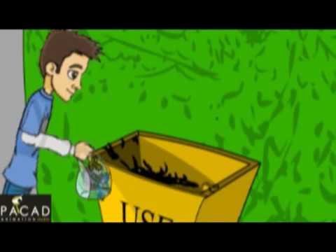 Animated Plastic awareness student film