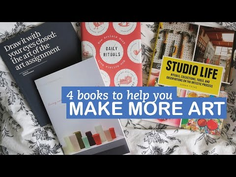 Make More Art with these 4 Books | LittleArtTalks