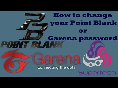 How to change Garena or Point Blank (PB) password - TH