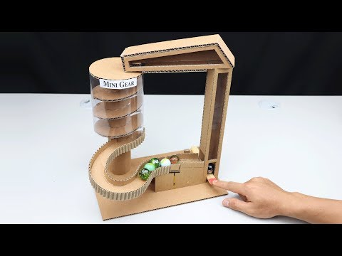 How to Make Gig Marble Run Game without DC Motor