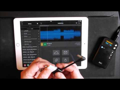 iPad Audio By-Pass Using The FiiO E17 DAC and Headphone Amp