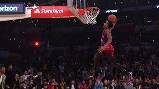 2018 NBA Slam Dunk Contest Highlights | NBA All-Star Weekend