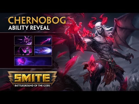SMITE - God Ability Reveal - Chernobog, Lord of Darkness