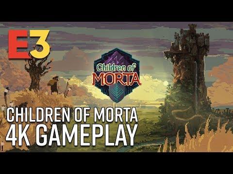 Children of Morta 4K Gameplay | E3 2018