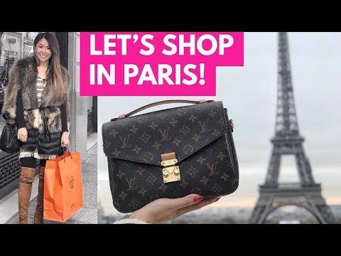 PARIS LUXURY SHOPPING VLOG   CHANEL, LOUIS VUITTON, HERMES & DIOR - Part 1