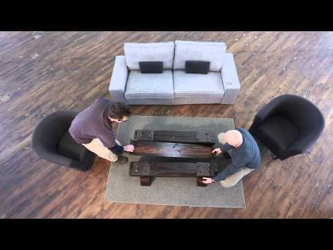 Sleepers Coffee Table Assembly
