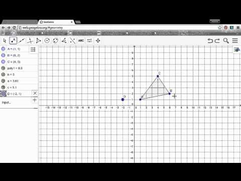 Rotations in Geogebra