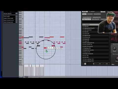 CUBASE  TUTORIAL , BEAT MAKING ( Drum and bass )