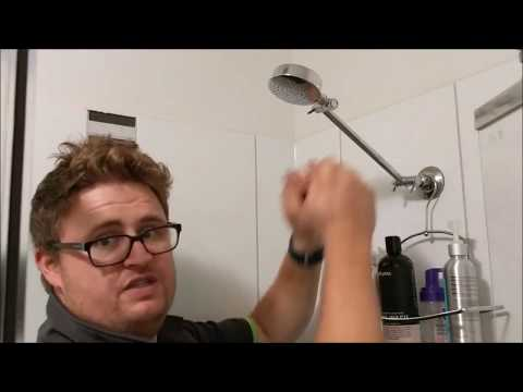 How to stop your shower head from falling down