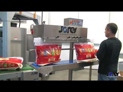 Industrial Grade Vertical Continuous Band Sealer - JORES -