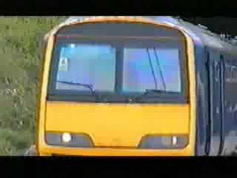 North Western Trains 322 - Manchester Airport