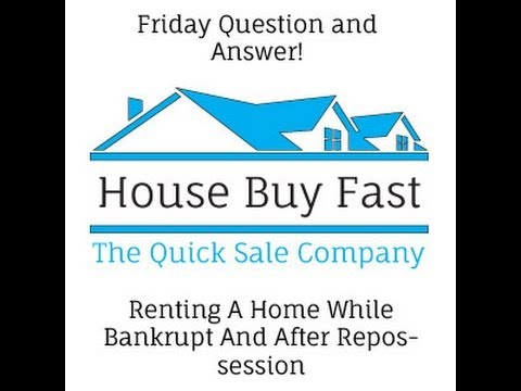 Renting A Home While Bankrupt And After Repossession | Friday Q&A [ Video #45 ]