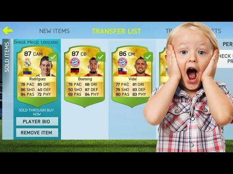 HOW TO MAKE UNLIMITED COINS ON FIFA 15 NEW SEASON IOS/ANDROID!!! THE BEST TRADING METHOD EVER!!!