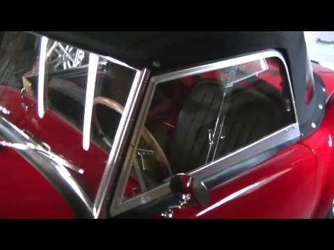 1960 MGA Restoration - Convertible top and sidescreens