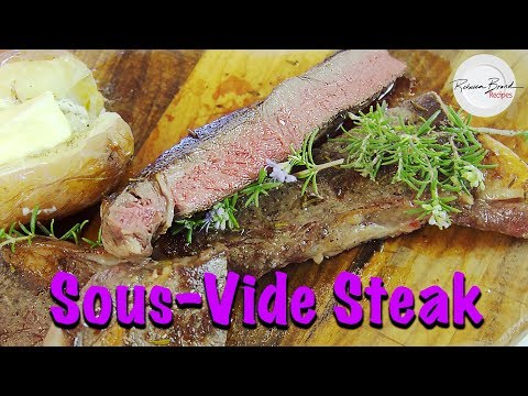 The FASTEST way to Sous Vide a Steak Recipe   MOST TENDER