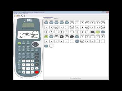 TI-30XS MultiView - Statistics - Sample Variance
