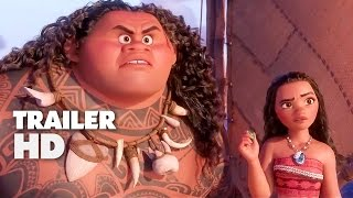 Moana - Official Film Trailer 2016 - Dwayne Johnson Animation Movie HD