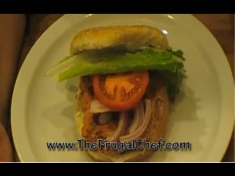 How to Make Salmon Burgers