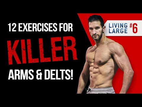 The GO SMALL TO GET BIG Shoulders & Arms Workout (GAIN UPPER BODY MASS!)