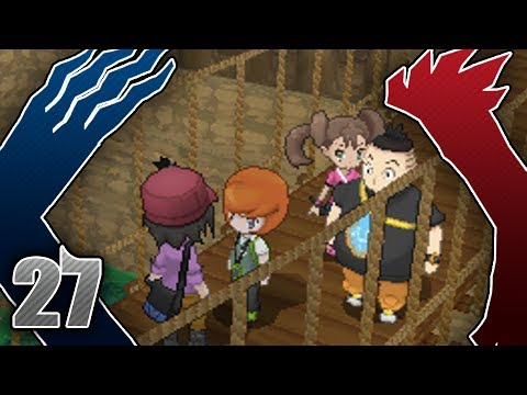 Let's Play Pokemon: Y - Part 27 - Couriway Town
