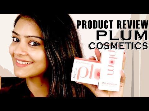Night Time Skincare Using Plum Cosmetics Products | Product Review | Skincare Tutorial | Foxy Makeup
