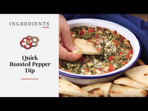 Quick Roasted Red Pepper Dip | Neilson