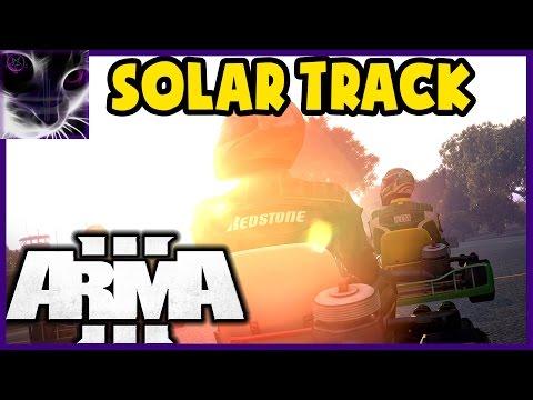 ArmA3 Go-Karting - SOLAR POWER PLANT Track - Ep.2