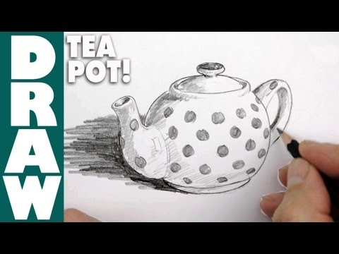 How to draw a Tea Pot
