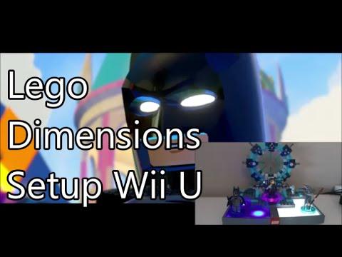 Lego Dimensions Setup for Wii U