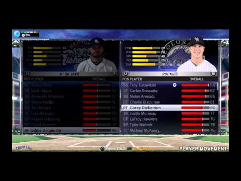 MLB® 15 The Show™Rosters