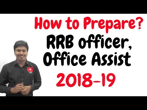 How to Prepare _ IBPS RRB Officer/Assistant 2018-19