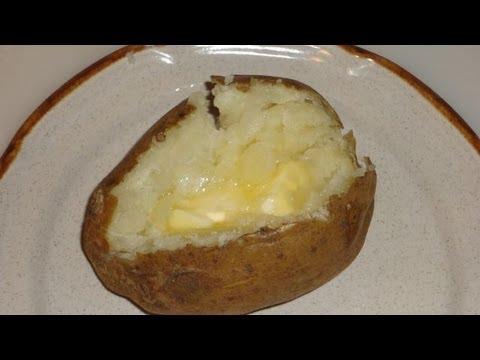 Baked Potato Easy Oven Baked Recipe
