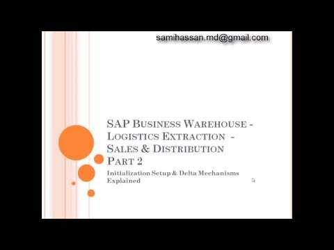 SAP BW Logistics Extraction (LOS) - Delta Mechanism - Part 2