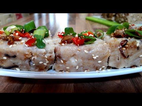 Steamed Taro/Yam Cake (芋头糕)