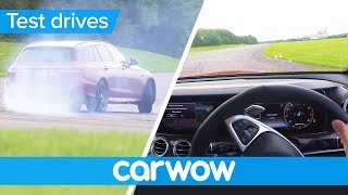 Mercedes-AMG E63 S POV review - with shock tyre failure | Test Drives