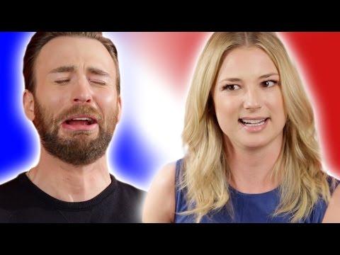Chris Evans The Captain America Civil War Cast Play Superhero Would Y