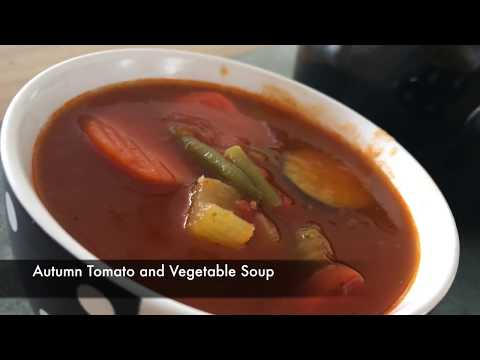 Autumn Tomato and Vegetable Soup - Episode 341 - Baking with Eda